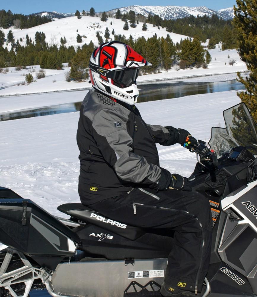 Snowmobile Scenic Vista