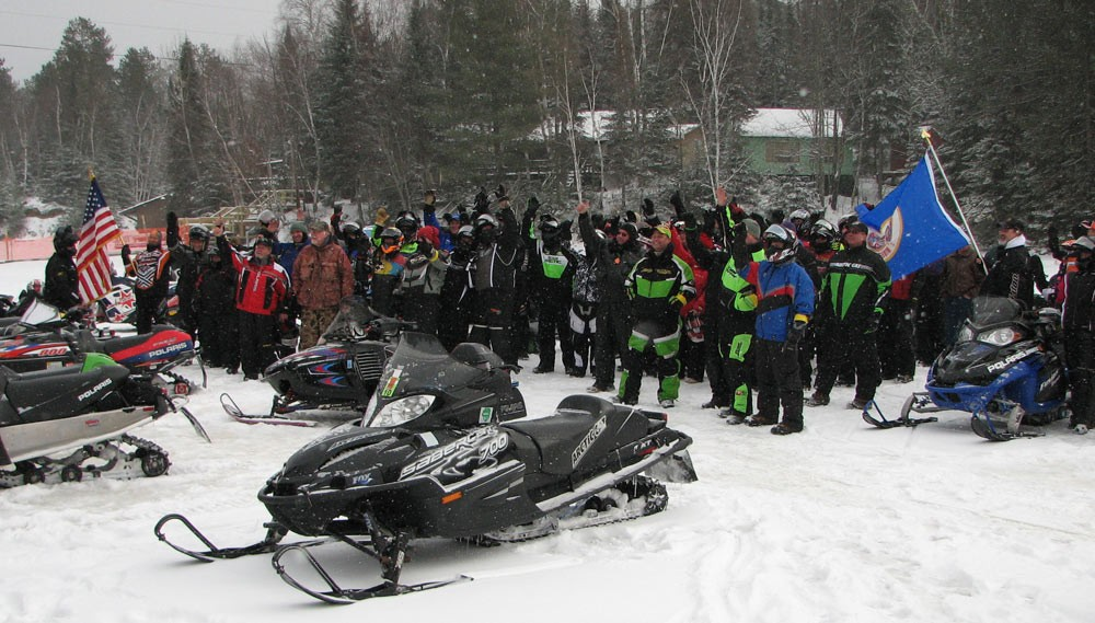 Snowmobilers Celebrate