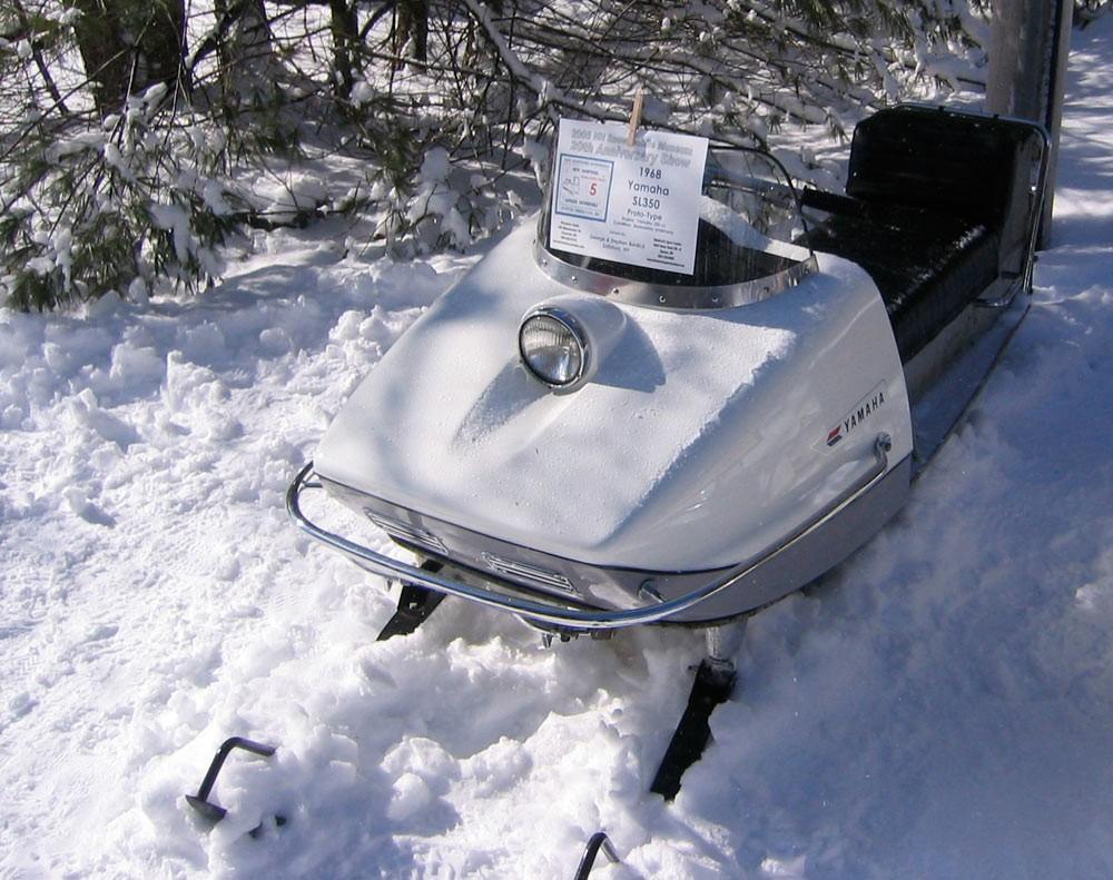 Vintage Yamaha Snowmobile