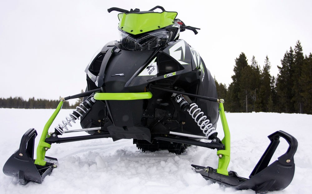2018 Arctic Cat XF 8000 High Country Front Suspension
