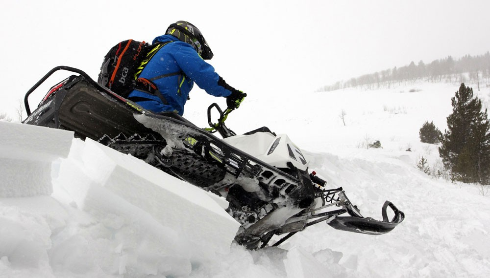 2018 Ski-Doo 850 Freeride 137 Rear