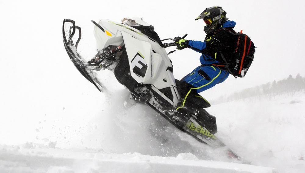 2018 Ski-Doo 850 Freeride 137 Feature