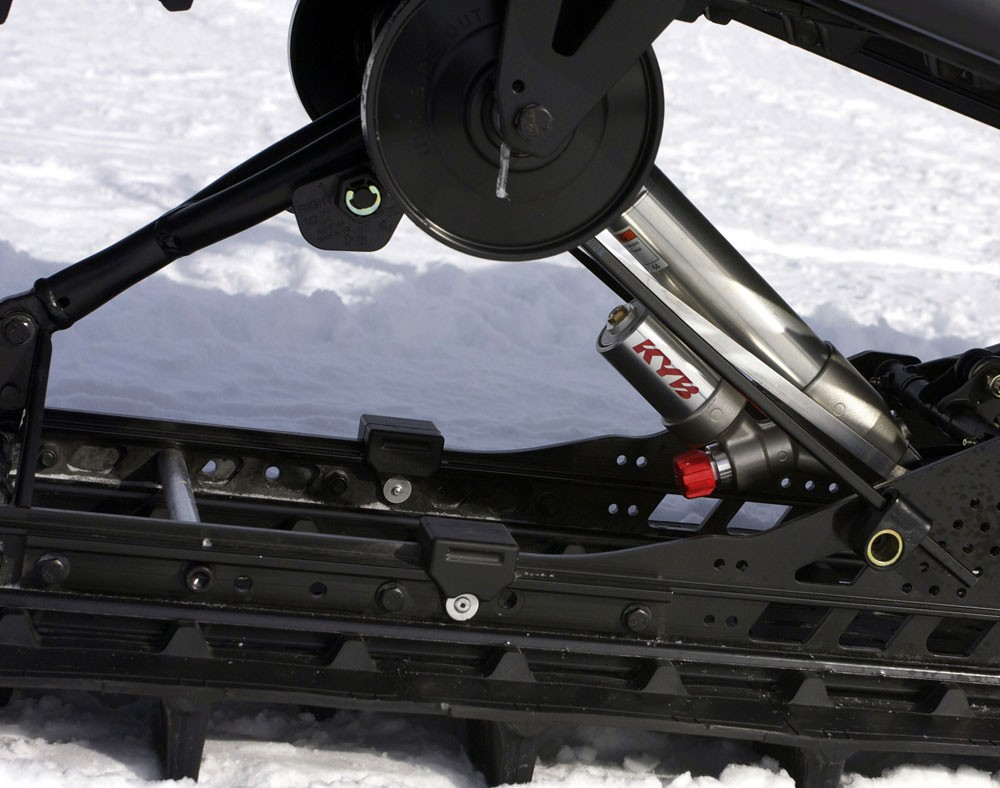 2018 Ski-Doo 850 Freeride 137 Rear Suspension