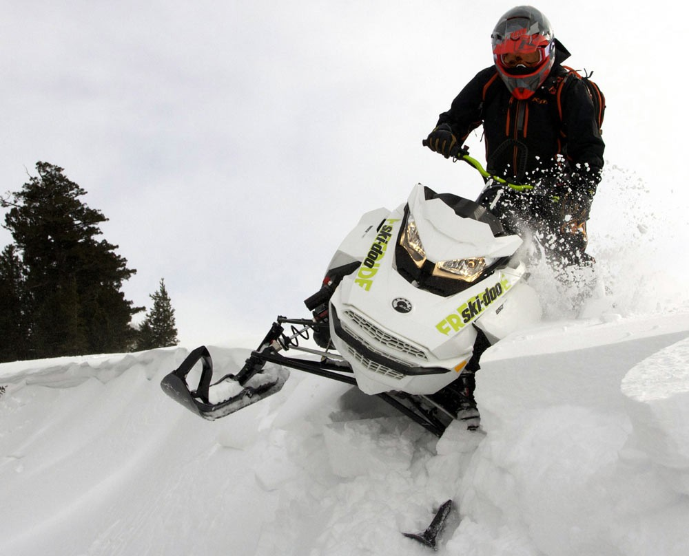 2018 Ski-Doo Freeride 146 Powder