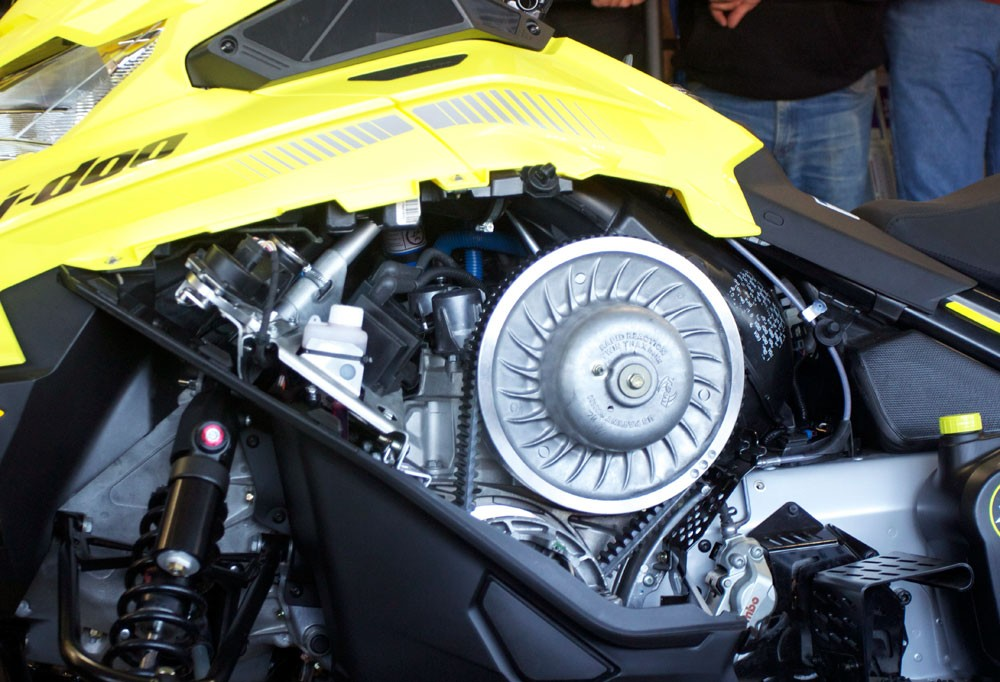 2018 Ski-Doo MXZx 600RS E-TEC Engine