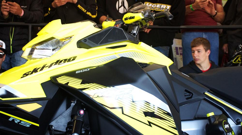 2018 Ski-Doo MXZx 600RS E-TEC Plastic