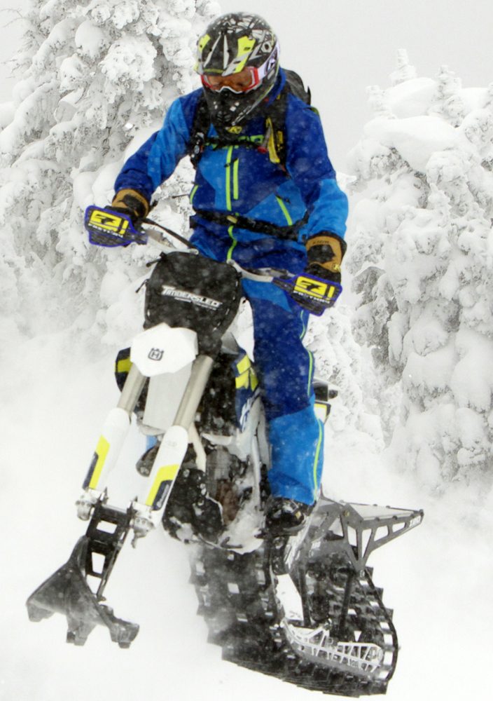 Snow Dirt Bike >> 2018 Timbersled ARO 120 and 137 Snow Bike Kits ...