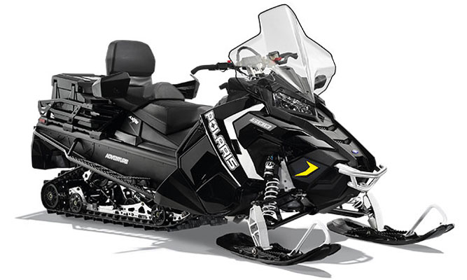 Polaris Titan Adventure: Toy Haulers For Snowmobiles