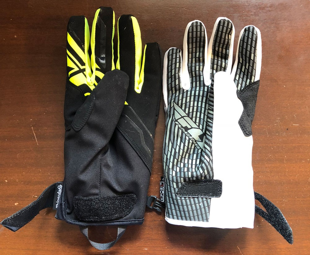 Fly Racing Title Gloves Comparison Palm