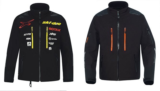 Ski-Doo introduces the new Helium Pro Jacket to bring the next level of advanced outerwear to active crossover and cross-country riders both on and off trail