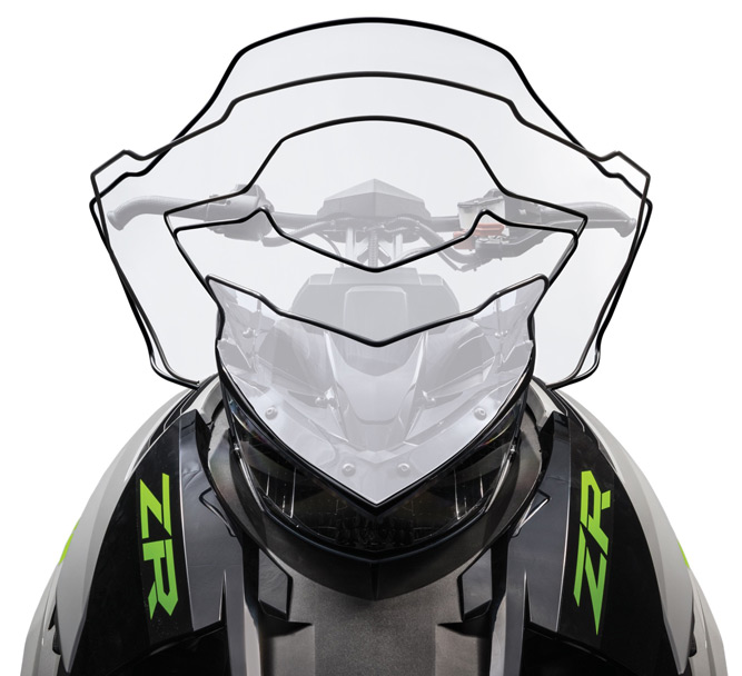Arctic Cat ultimate windscreen options