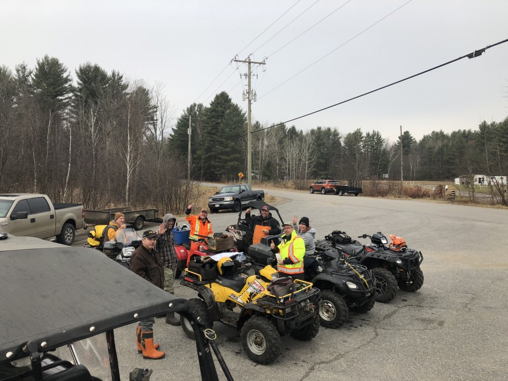 Snowmobile Trail Maintenance