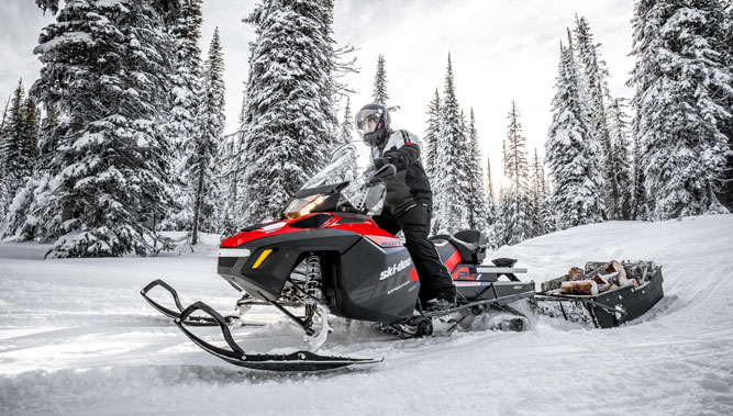 New 2018 Ski-Doo Expedition SWT