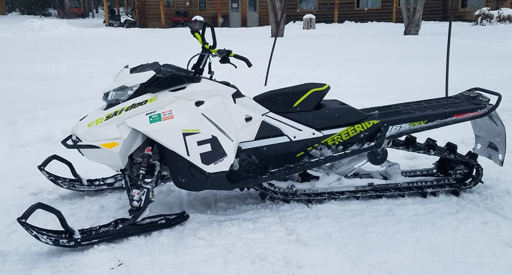 2018 Ski-Doo 850 Freeride Snow