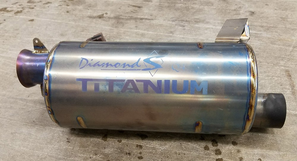 Diamond S Titanium Exhaust