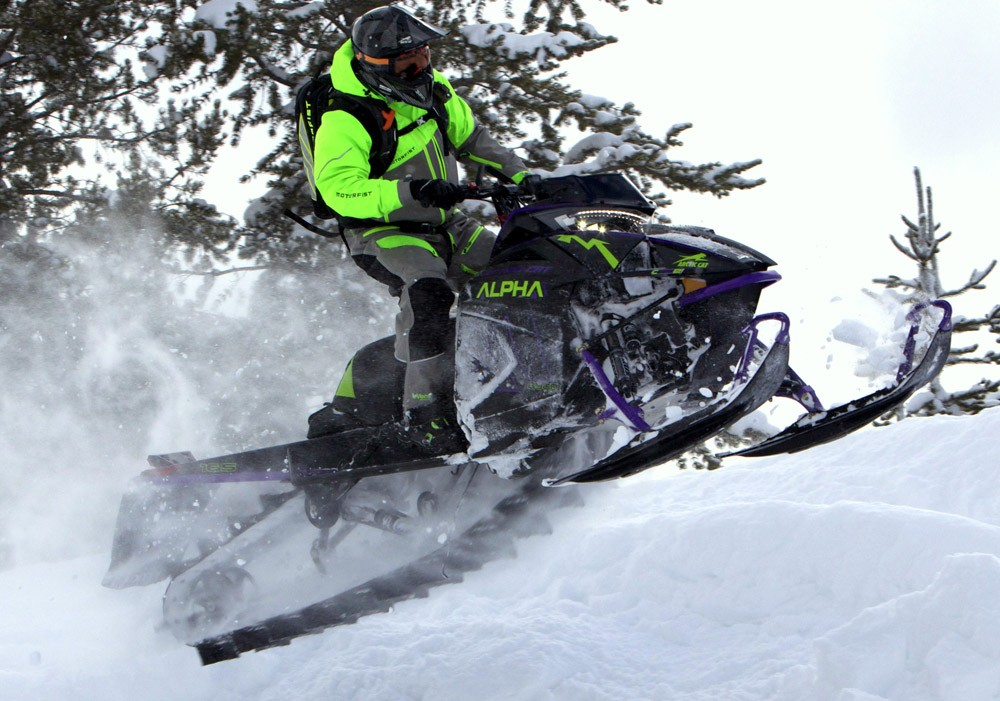 2019 Arctic Cat Alpha One Mountain Cat Action 1