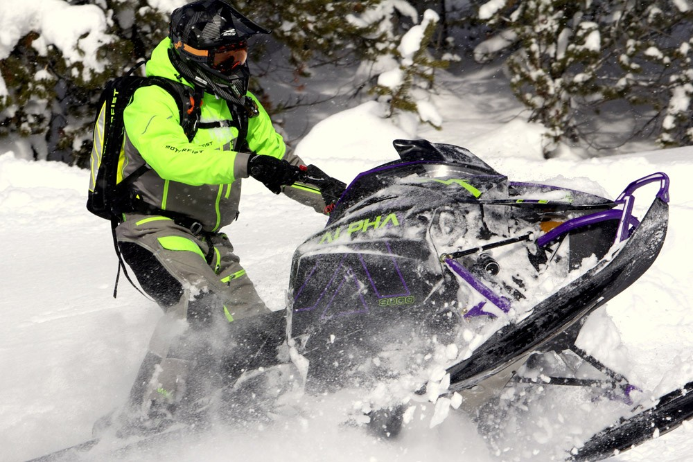 2019 Arctic Cat Alpha One Mountain Cat Action 2