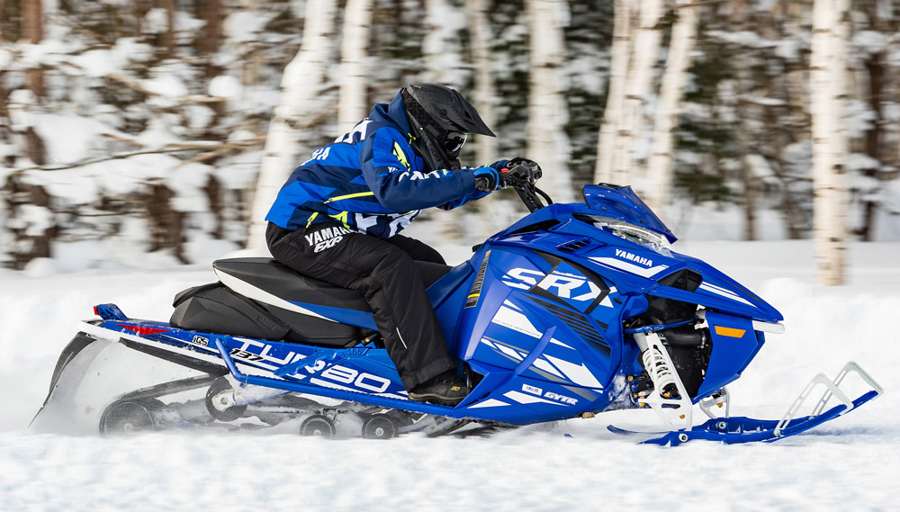 Yamaha Sidewinder S Rx Le on Snow Pro Parts