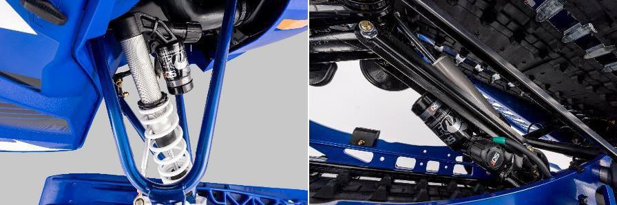 2019 Yamaha Sidewinder SRX LE FOX IQS