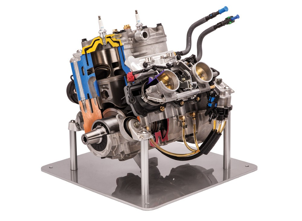 Polaris 850 Patriot Engine 1