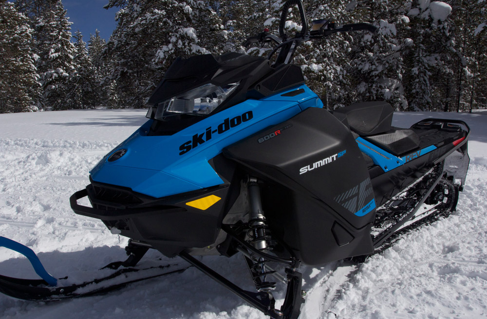 2019 Ski-Doo 600 Summit SP 146 and 154 Review + Video
