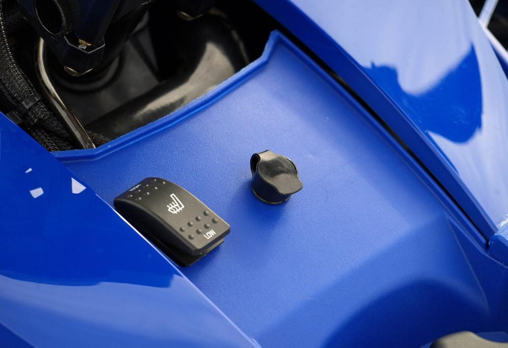 2019 Yamaha Sidewinder SRX LE Heated Seat Switch