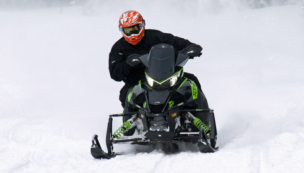 2019 Arctic Cat ZR 9000 Thundercat Front