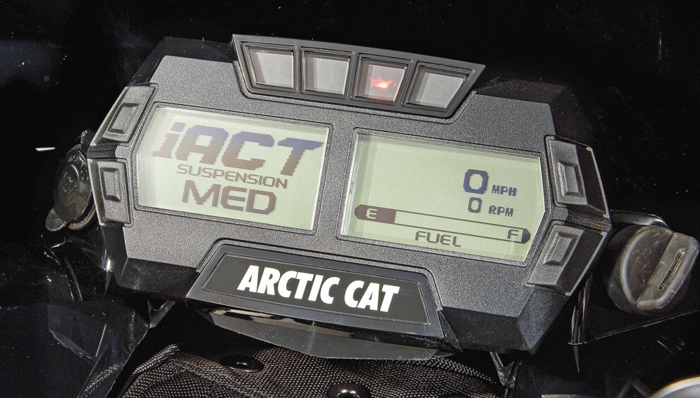 2019 Arctic Cat ZR 9000 Thundercat Gauges