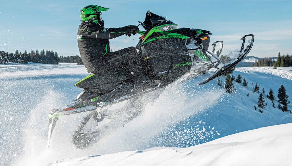 2019 Arctic Cat ZR 9000 Thundercat Jump