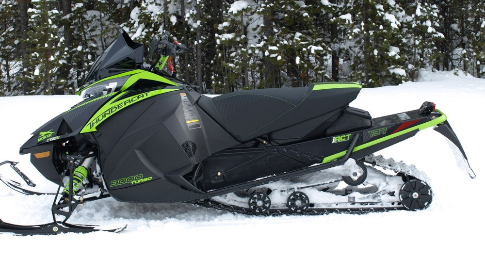2019 Arctic Cat ZR 9000 Thundercat Profile
