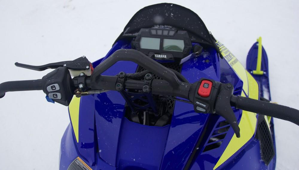 2019 Yamaha Sidewinder B-TX LE Cockpit