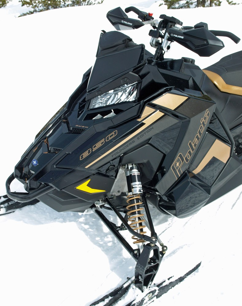 2019 Polaris 850 Rush Pro-S Front Suspension