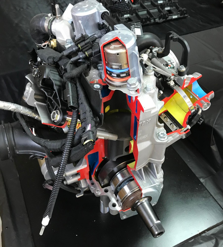 2019 Ski-Doo Renegade Adrenaline 600R Engine