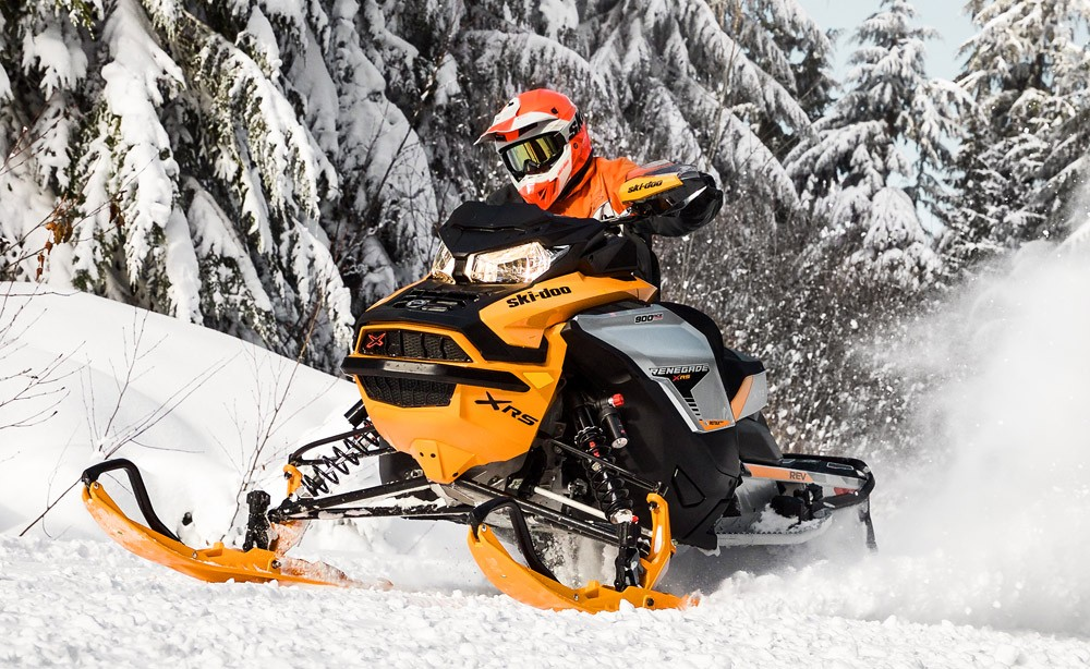 Ski-Doo Renegade X RS Action