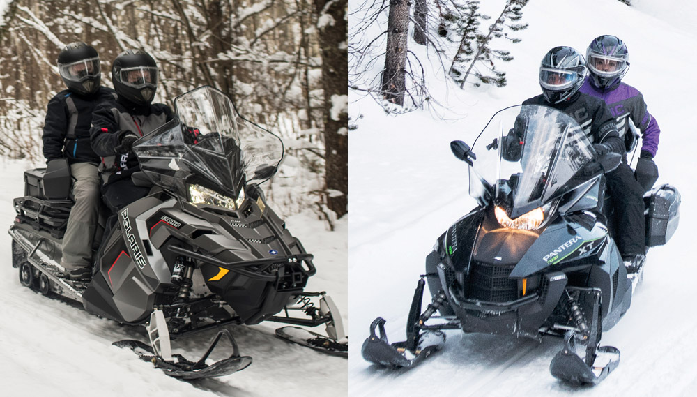 Ski Doo Freeride >> 2019 Polaris Titan Adventure vs. Arctic Cat Pantera 7000 ...