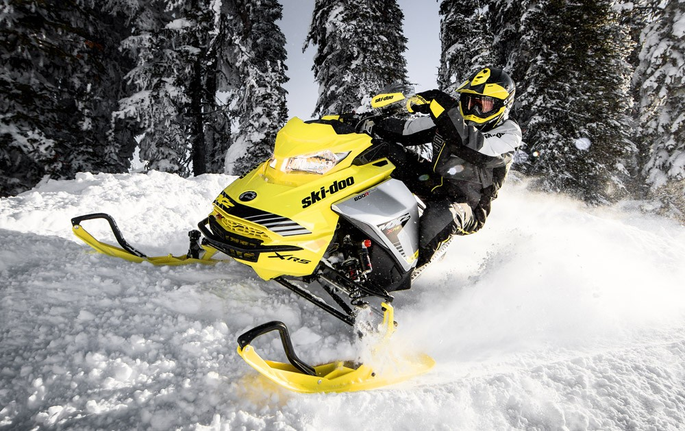 2019 Ski-Doo MXZ X-RS Action