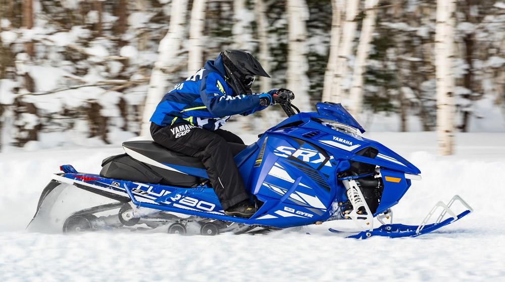 2019 Yamaha Sidewinder SRX LE Action