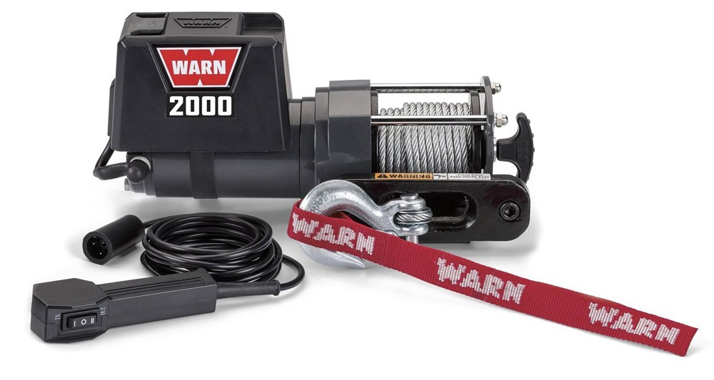Snowmobile Trailer Winch