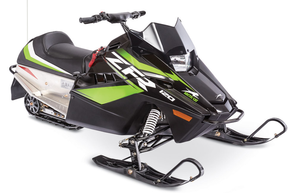 2019 Arctic Cat ZR 120 Black