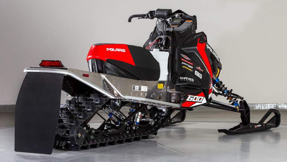 2019 Polaris 600R Rear