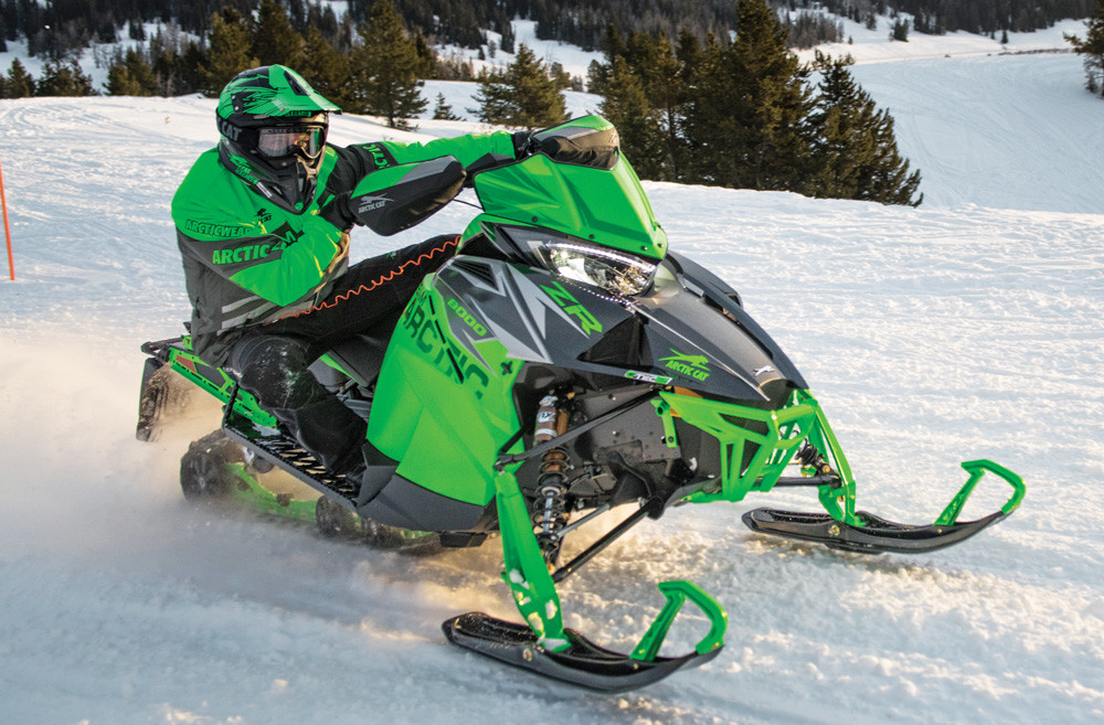 2019 Arctic Cat ZR 8000 RR 3