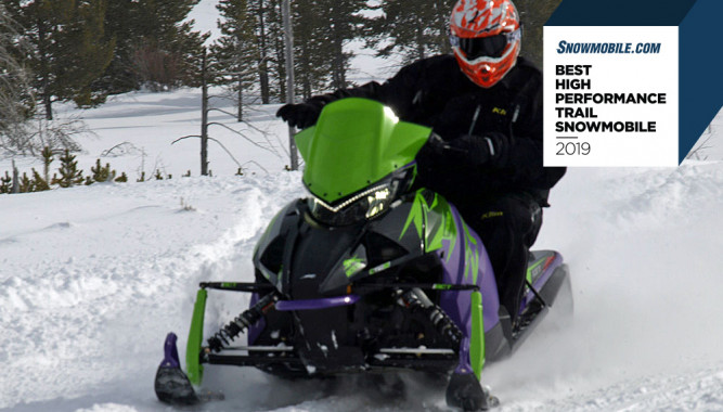 Snowmobile com Best High Performance Trail Snowmobile of 2019