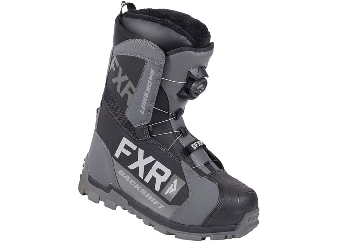 FXR Snowmobile Boots Backshift BOA