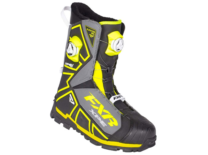 FXR Snowmobile Boots Elevation Lite Dual Zone BOA