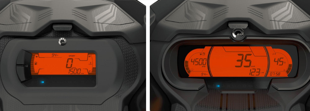 2020 Ski-Doo Digital Gauges