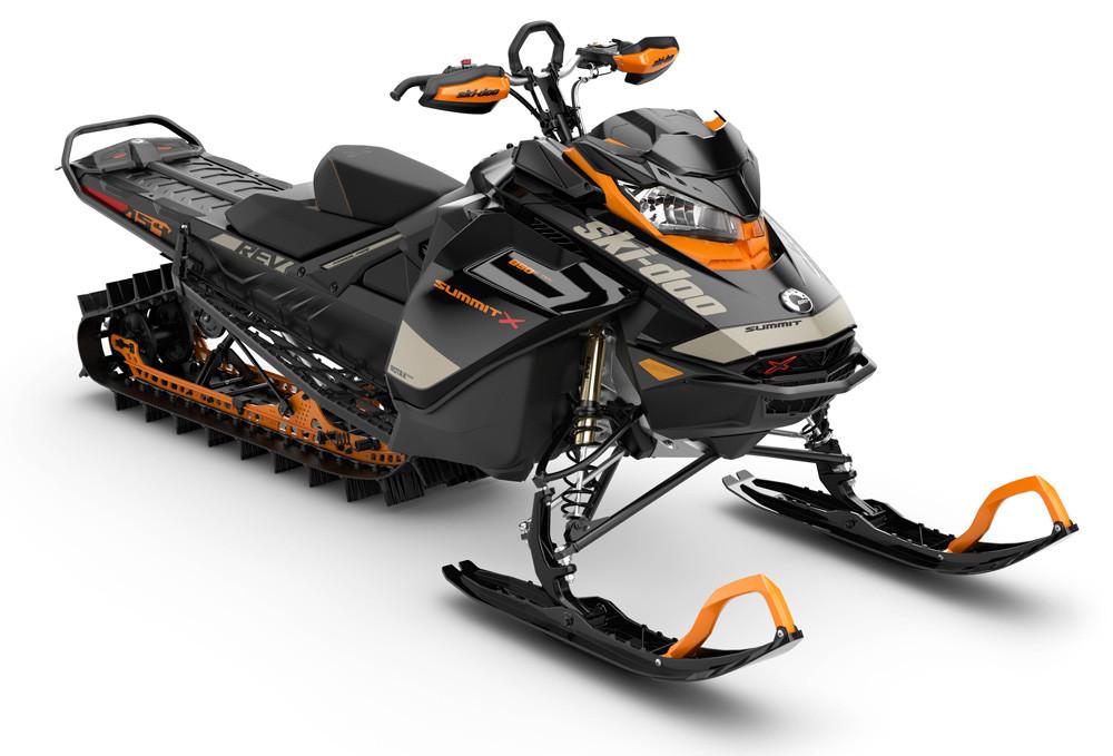 2020 Ski-Doo Summit X Экспертный пакет Оранжевый