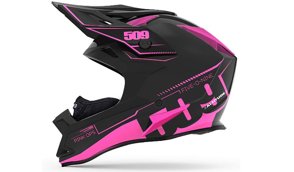 509 Altitude Snowmobiling Helmet with Fidlock