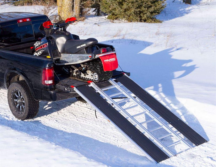 Black Ice Snowmobile Loading Ramp