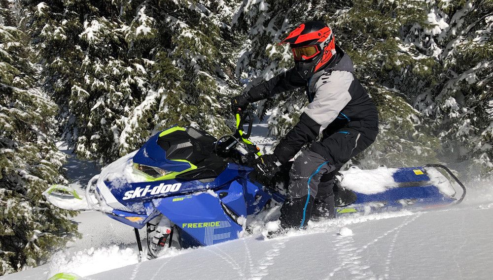 2020 Ski-Doo Freeride Action 3