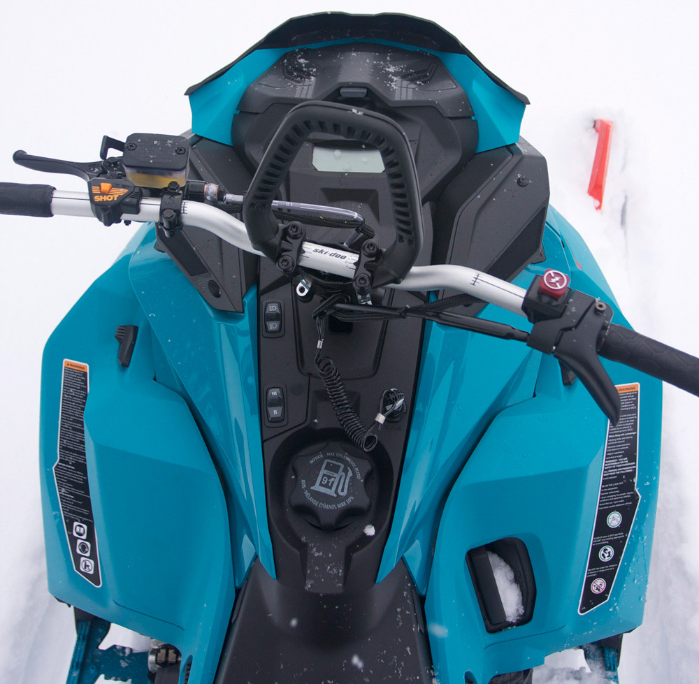 2020 Ski-Doo Freeride Cockpit